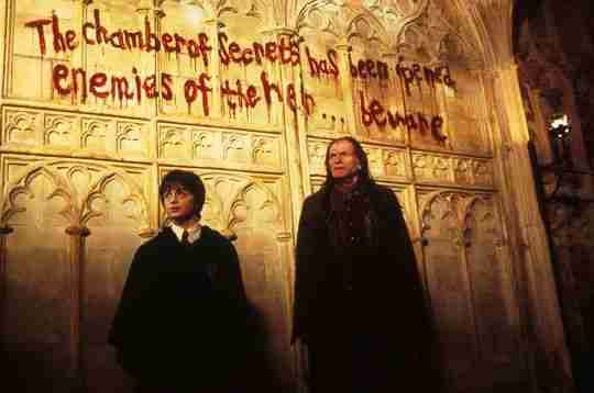 Harry Potter chambre des secrets