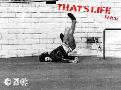chute en skate