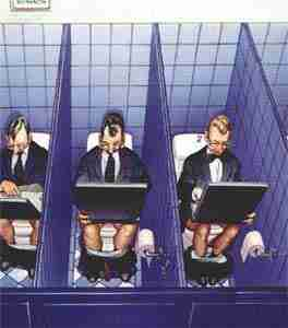 ... cyberdépendance au boulot ...