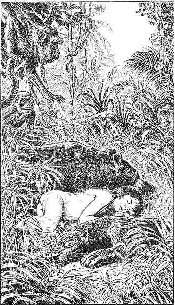 legende de mowgli